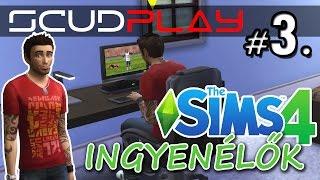 ScudPlay | Sims4 - Ingyenélők #3 | Úgy néz ki Frank megtanult játszani :) [HUN]