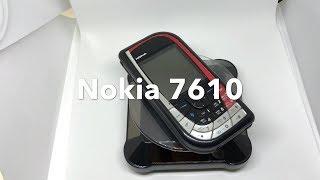 Nokia 7610, Black/red, Unlocked, Retro Phone, Rare Phone, 100% Origina