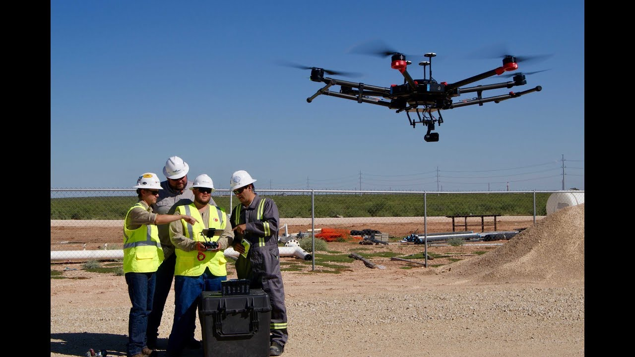 Major benefits of using drones in construction