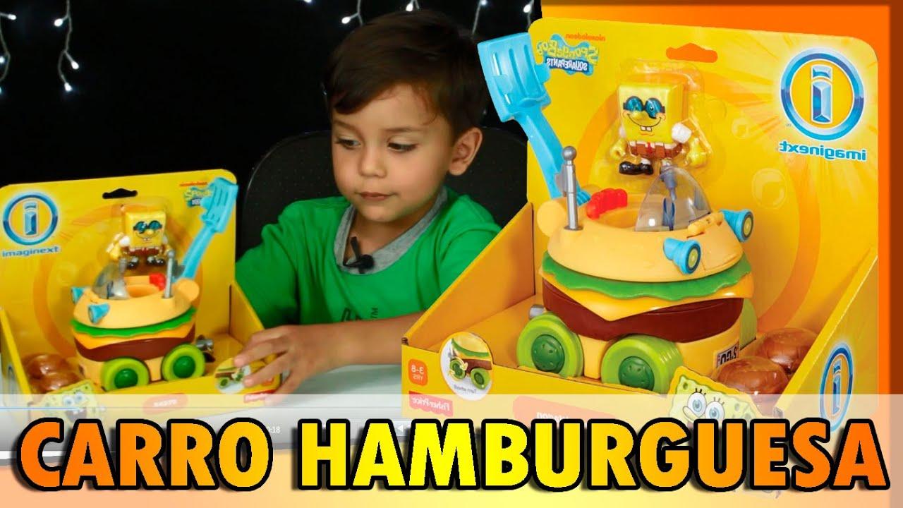 Bob Esponja Hamburguesa: CARRO HAMBURGUESA DE BOB ESPONJA