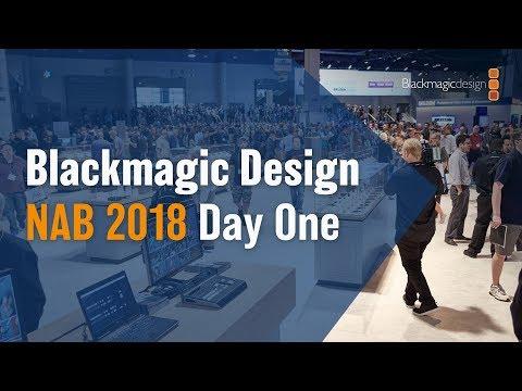 Blackmagic Design NAB 2018