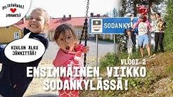 UUSI KOULU ALKAA HUOMENNA!  #vaihtovuosisodankylässä VLOGI 2