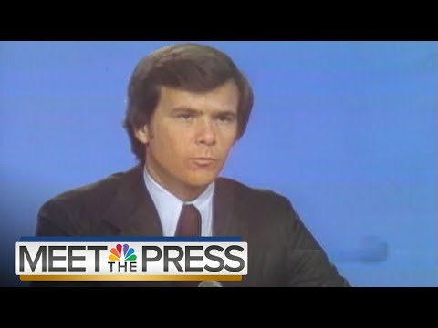 For #MTP70, Look Back At Panelists' First Appearances | Meet The Press | NBC News