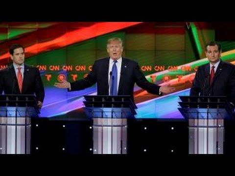 Social media reacts to the Republican debate