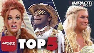 Download 5 WILDEST Weddings in IMPACT Wrestling History! | IMPACT Plus Top 5 Mp3 and Videos