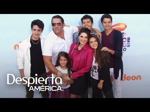 Los Santamarina-Villanueva presentaron a su multitalentosa familia