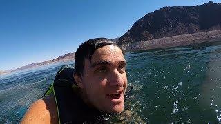 Learning How To Wake Surf ! || Konas Vlog || Konas2002