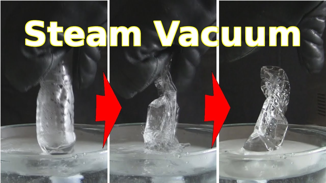 Steam Vacuum Making How It Works Youtube