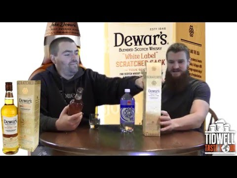 Dewar's White Label Scratched Cask Blended Scotch Whisky Review