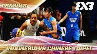 Download Video Indonesia survive thriller vs. Chinese Taipei - Full Game - Asia Cup U18 - FIBA 3x3 MP3 3GP MP4