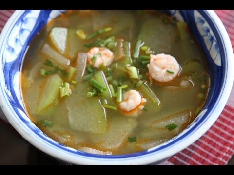 Winter Melon Soup - Canh Bí Đao