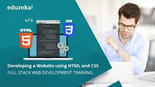 Create a Website using HTML and CSS Under 30 Minutes | HTML Tutorial | CSS Tutorial | Edureka