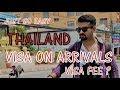 Bangkok Airport: Quick Visa On Arrivals! Exchange Money| Roaming Around | Akshay kachhawa