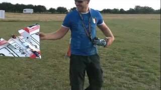 100mph RC Plane Crash