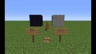 Minecraft: 丸石と黒曜石の対爆性能の差