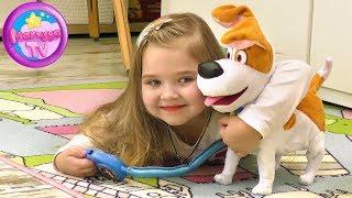 Мой новый щенок Макс - Интерактивная игрушка Макс с мультфильма Тайная жизнь домашних животных