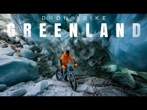 Greenland Ice Trip - Grenlandia rowerami DRON