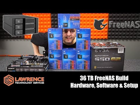 36 TB FreeNAS Build: Hardware & Setup. Kingwin Tray-Less Hot-Swap & Western Digital Red NAS Drives