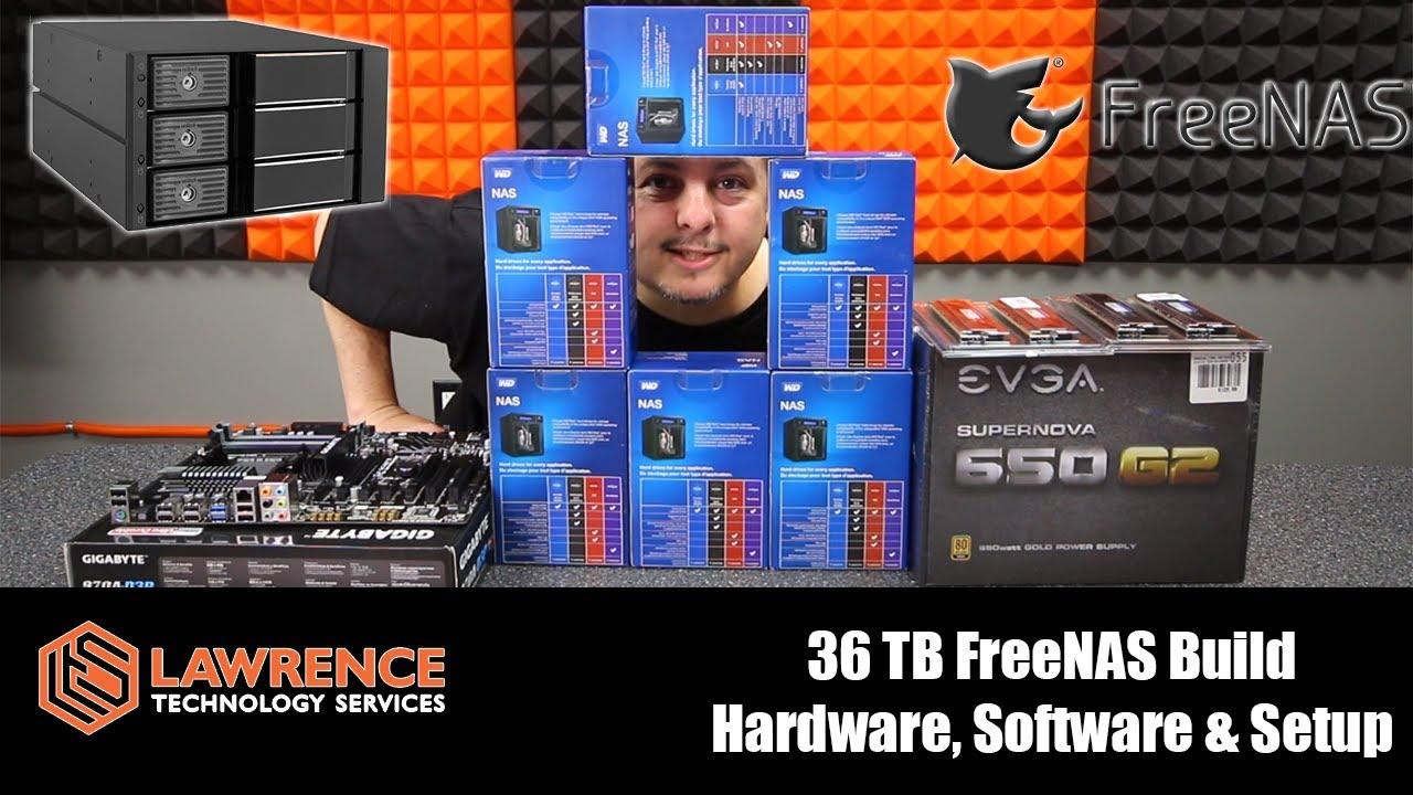 36 TB FreeNAS Build: Hardware & Setup  Kingwin Tray-Less Hot-Swap & Western  Digital Red NAS Drives