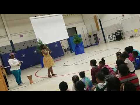 #Mzmenneh performs at Park Brook Elementary school