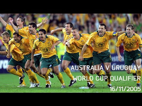 Australia v Uruguay - WCQ 2nd Leg 2005 - Full Match