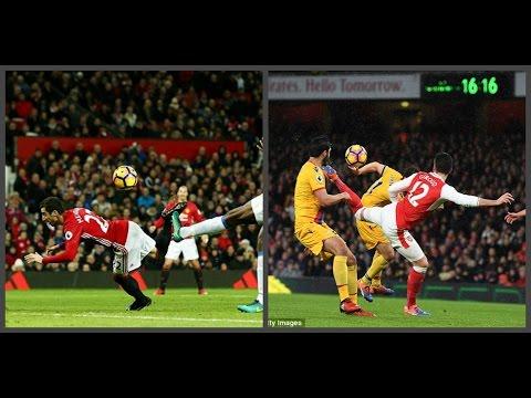 Henrikh Mkhitaryan & Olivier Giroud scorpion goals. Whose goal is the best?