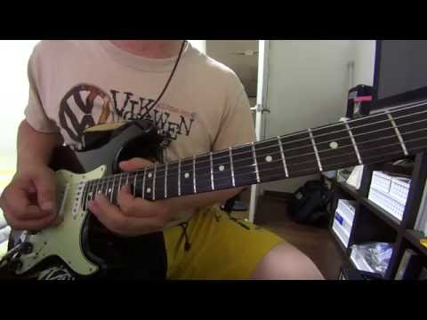 The hybrid pentatonic Scale / Rock guitar made easy
