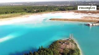 Ce lac pourtant toxique fait fureur sur Instagram