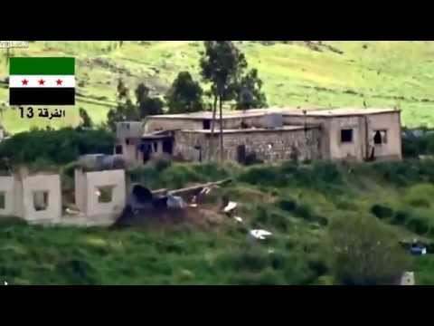 Syrian citizen demolish Assad