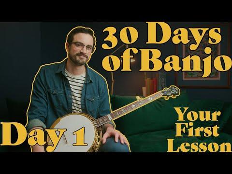 Absolute Beginner Banjo Course! // 30 Days of Banjo: Day 1 indir