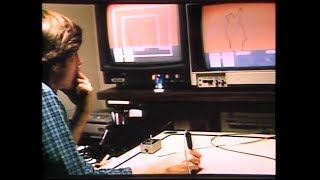 TRON - CGI making of (1982)