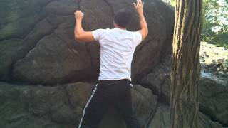 Rat Rock Traverse in NYC Central Park