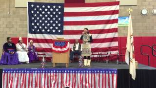Navajo & English - God Bless America - Callie Bennett