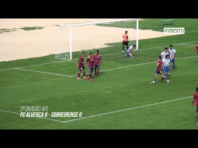 FC Alverca B 6 - Sobreirense 0 Highlights