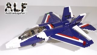Lego Creator 31039 Blue Power Jet Model 1of3 - Lego Speed Build Review