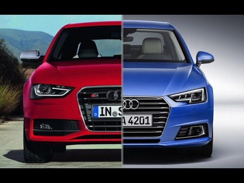 2014 audi a4 b8 vs 2016 audi a4 b9 youtube. Black Bedroom Furniture Sets. Home Design Ideas