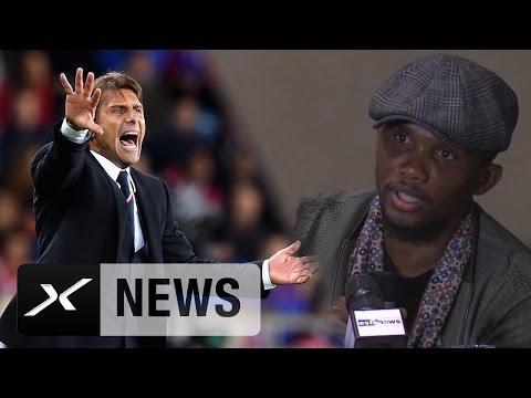 Samuel Eto'o: Deshalb ist Antonio Conte gut für die Blues   Trainerwechsel beim FC Chelsea