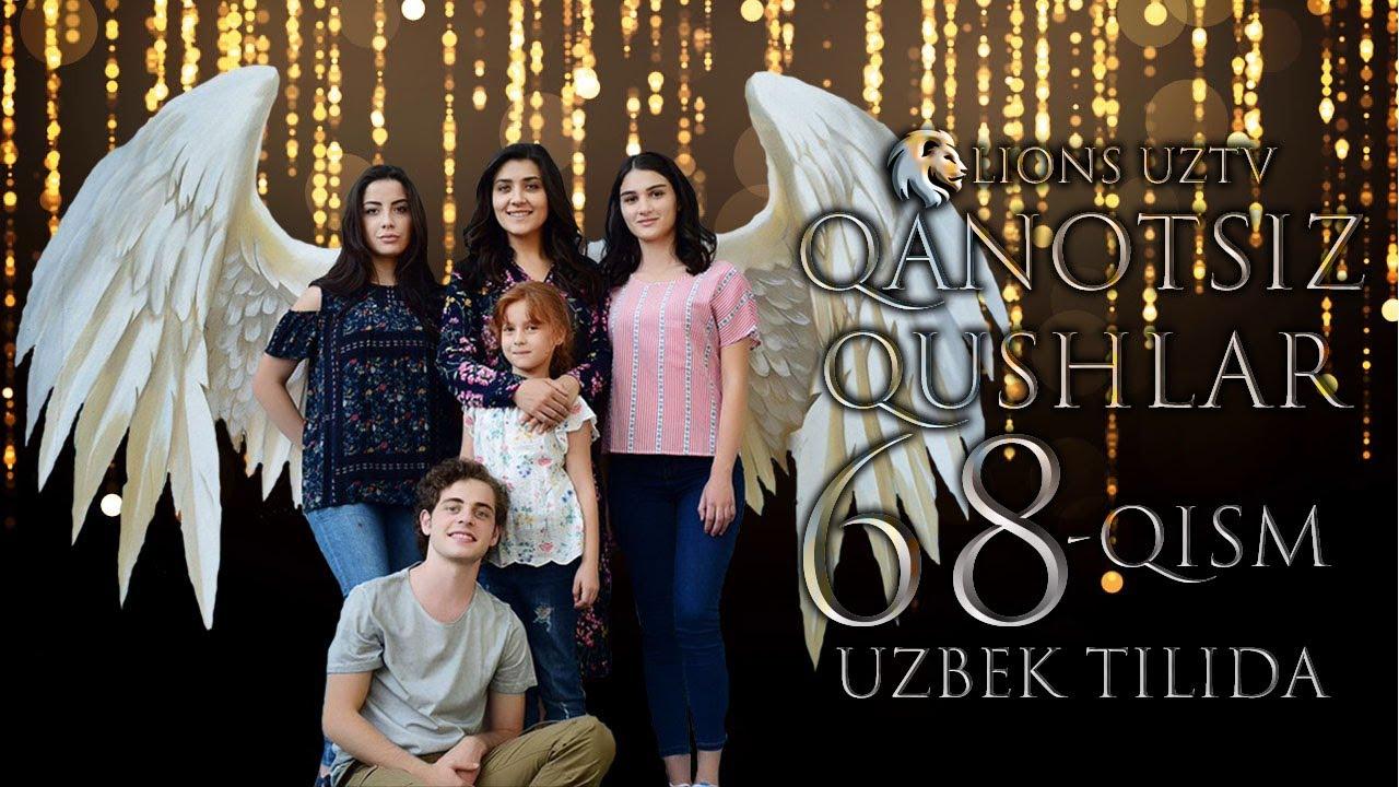 QANOTSIZ QUSHLAR 68 QISM TURK SERIALI UZBEK TILIDA | КАНОТСИЗ КУШЛАР 68 КИСМ УЗБЕК ТИЛИДА