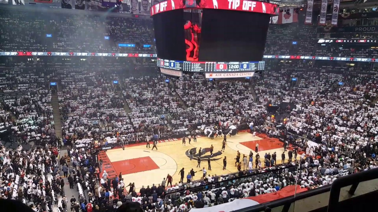 6283bfdf343 Tip-off- Game 3, 2017 Playoffs | EAST Semis- Cleveland Cavaliers @ Toronto  Raptors