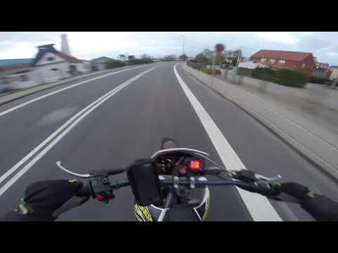 Derbi Senda '16 50cc [Danish Moped Riding]