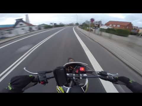 Derbi Senda '16 50cc [Danish Moped Riding]