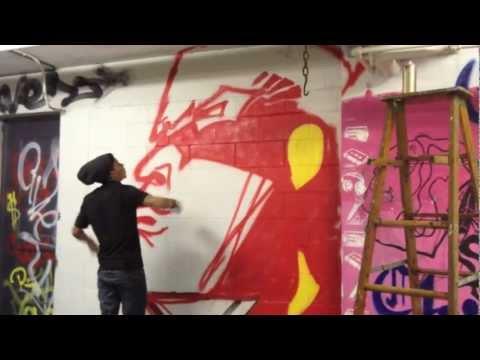 Wells High School Graffiti Mural Art Club