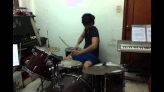 Touch the Sky Drums Cover (Franco)