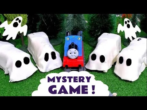 Thumbnail: Thomas and Friends Spooky Prank with Play-Doh Toy Trains - Ghost Train Toys for Kids & Children TT4U