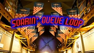 Full Soarin' Queue Loop