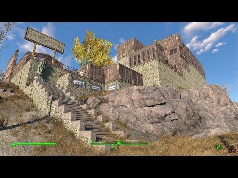 Coastal Cottage Fallout 4 Settlement Build Tour