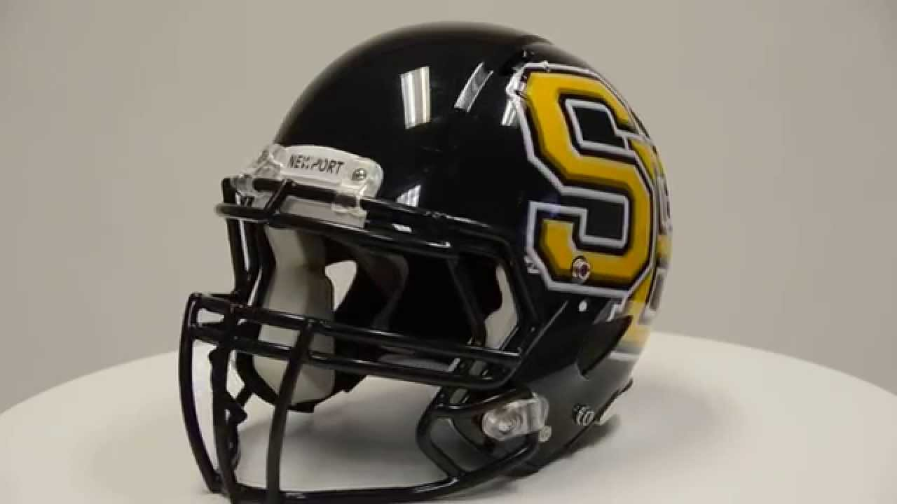 3e237011 Sportdecals® Riddell® Speed Oversized Helmet Decals - HDHD SE - YouTube