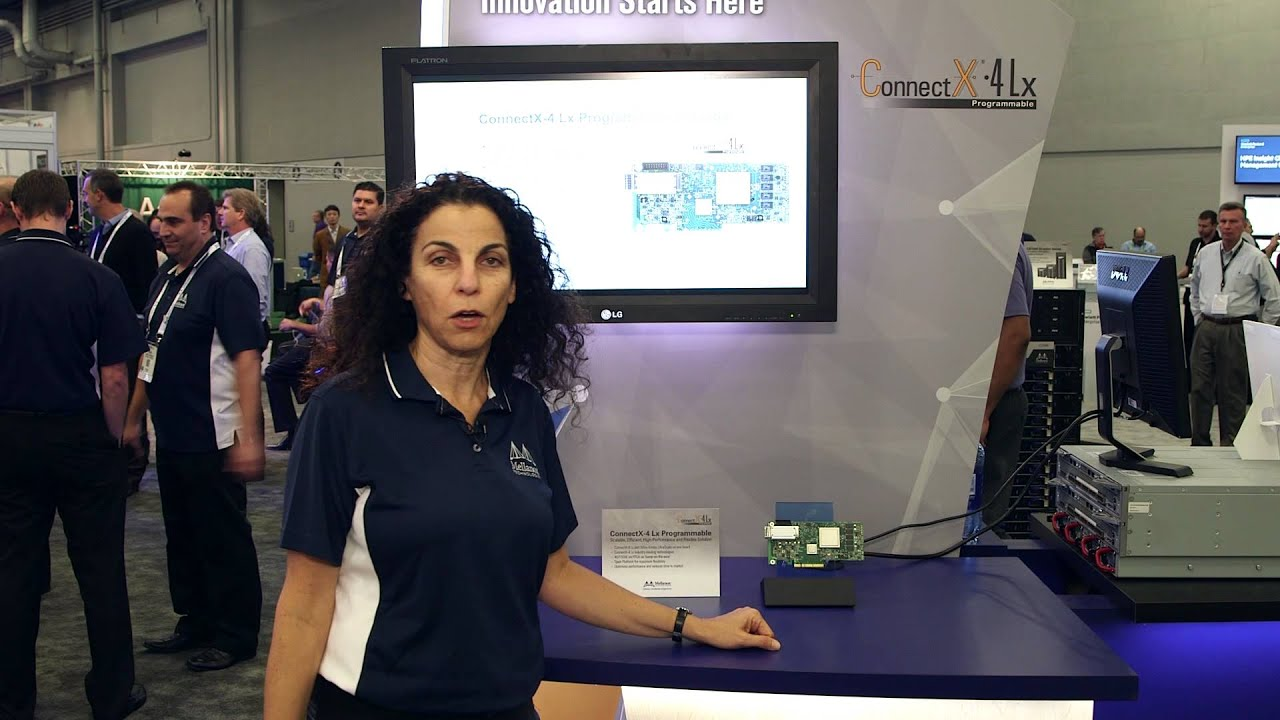 Mellanox ConnectX-4 Lx Programmable Adapter Demonstration at SC15