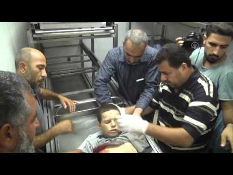 Palestinian boy shot dead in Gaza