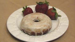 Strawberry Glazed Doughnuts -- Lynn's Recipes